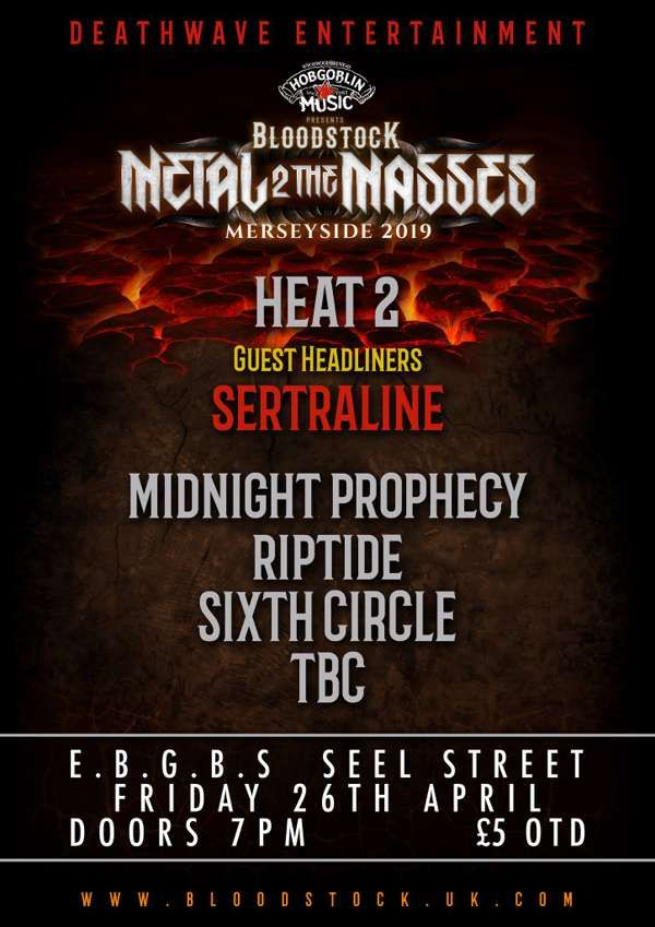 Guest Headline @ M2TM Merseyside - Heat 2 at E B G B S