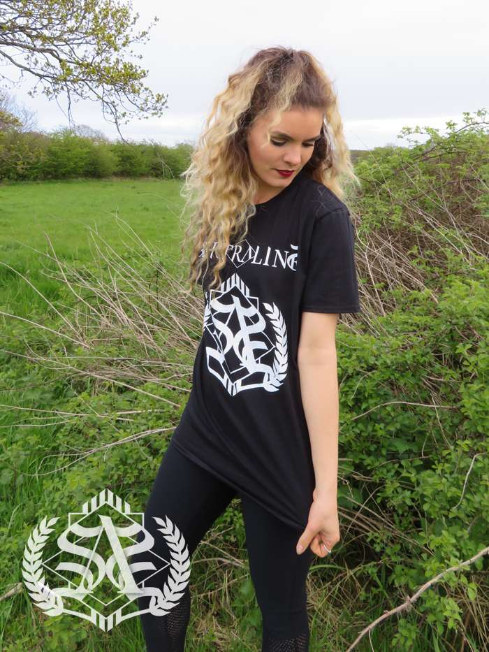 Logo Tee - Black - Sertraline