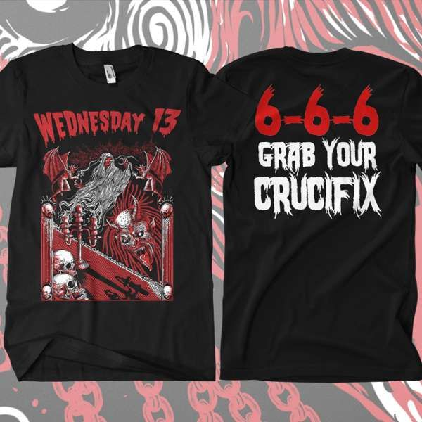 Wednesday 13 - 'Candle For The Devil' T-Shirt - Wednesday13 US