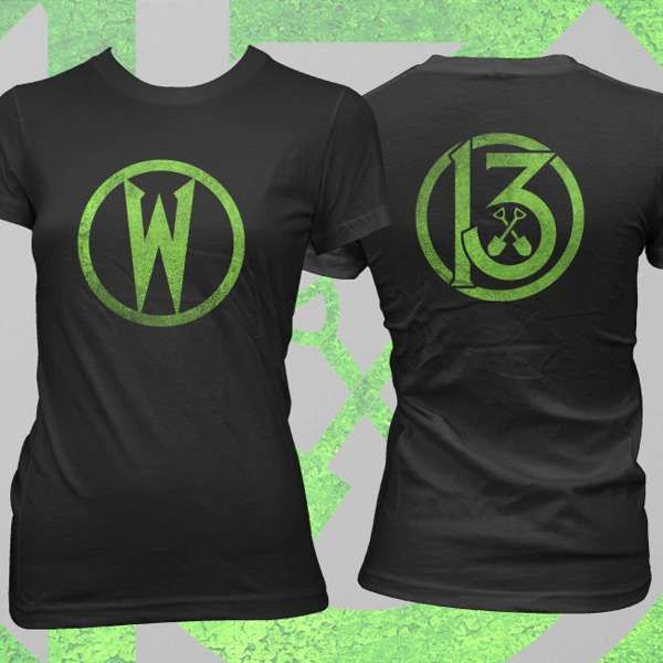 Wednesday 13 - 'Circle' Fitted T-Shirt - Wednesday13 US