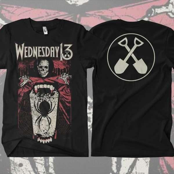 Wednesday 13 - 'Spider' T-Shirt - Wednesday13 US