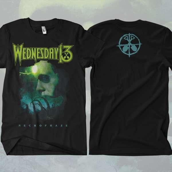 Wednesday 13 - 'Face' T-Shirt - Wednesday13