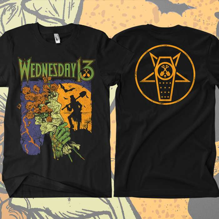Wednesday 13 - 'Grave Digger' T-Shirt - Wednesday13