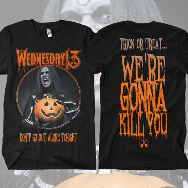 Wednesday 13 - 'Halloween' T-Shirt - Wednesday13