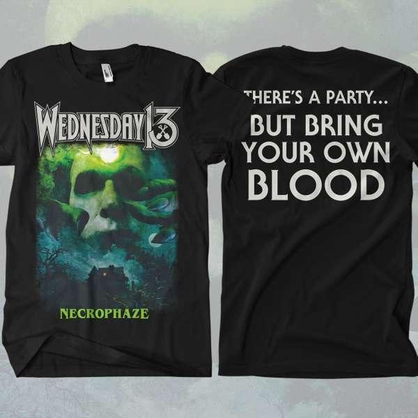 Wednesday 13 - 'Necrophaze' T-Shirt - Wednesday13