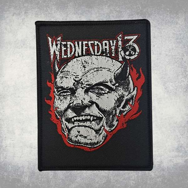 Wednesday 13 - 'Satan' Woven Patch - Wednesday13