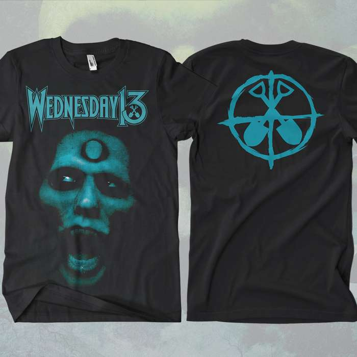 Wednesday 13 - 'Skull' T-Shirt - Wednesday13
