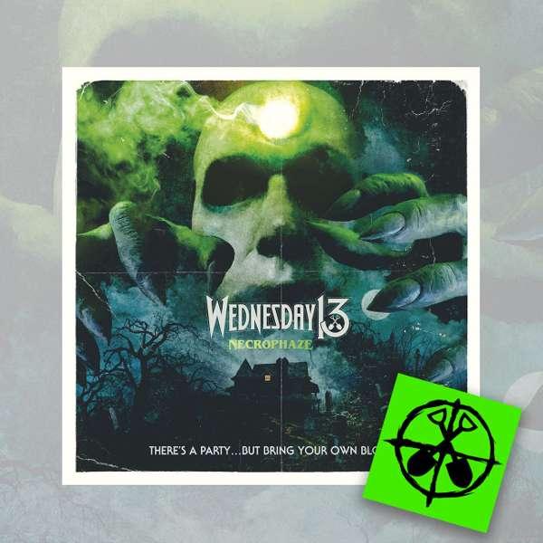 Wednesday13 - 'Necrophaze' CD + FREE STICKER - Wednesday13