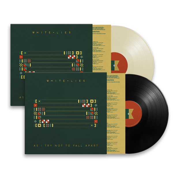 As I Try Not To Fall Apart - Vinyl Bundle - White Lies