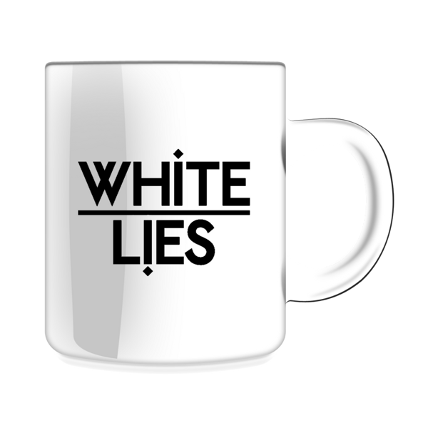 Classic Logo Mug - White Lies