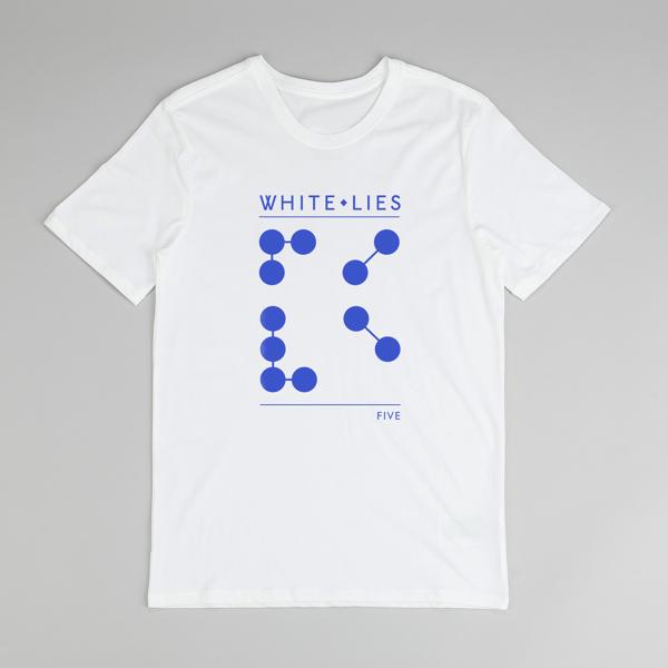 Five - T-shirt - White Lies
