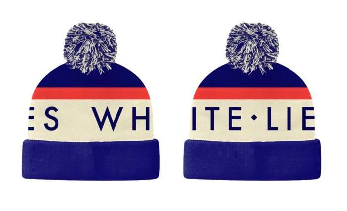 Knitted Hat - White Lies