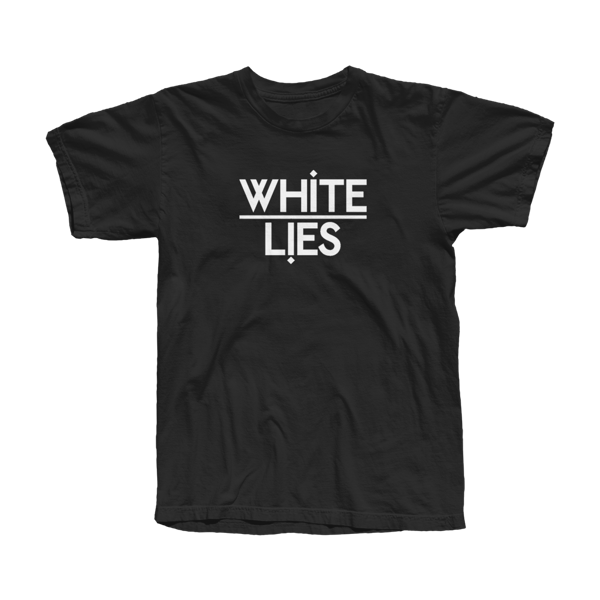 Ladies Classic Logo T-shirt - Black - White Lies