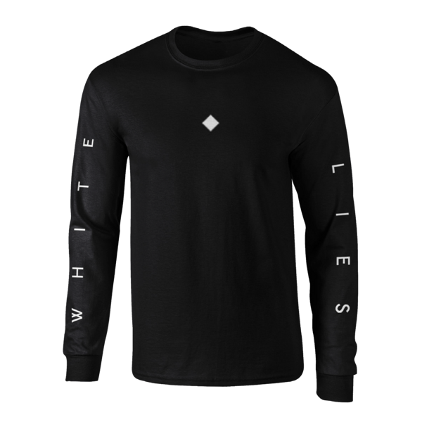 Long Sleeve T-shirt - Black - White Lies