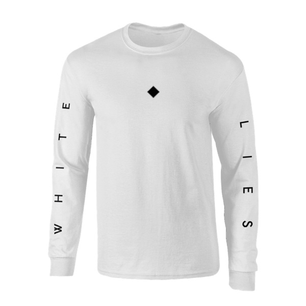 Long Sleeve T-shirt - White - White Lies