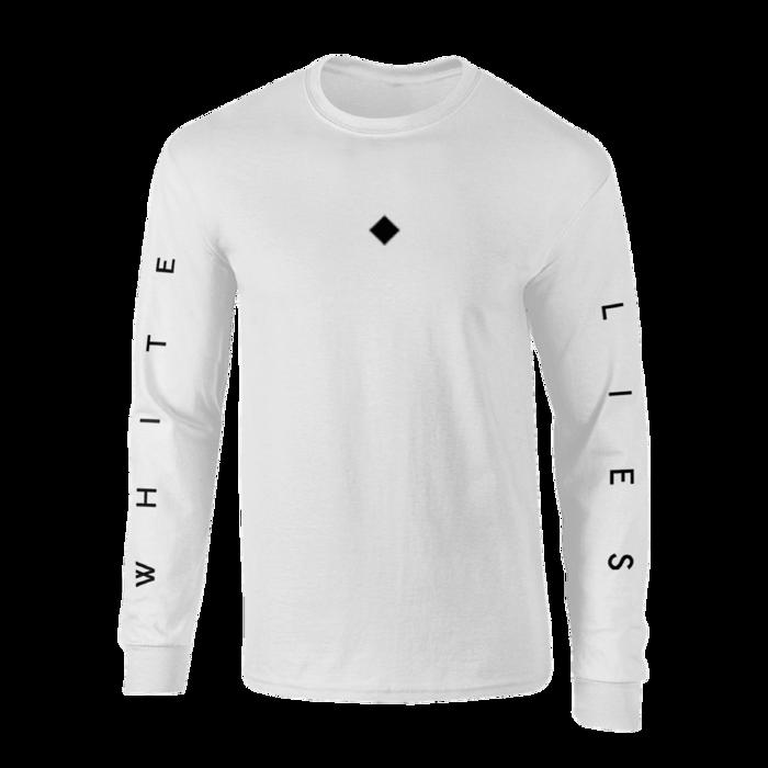 Long Sleeve T-shirt - White - White Lies