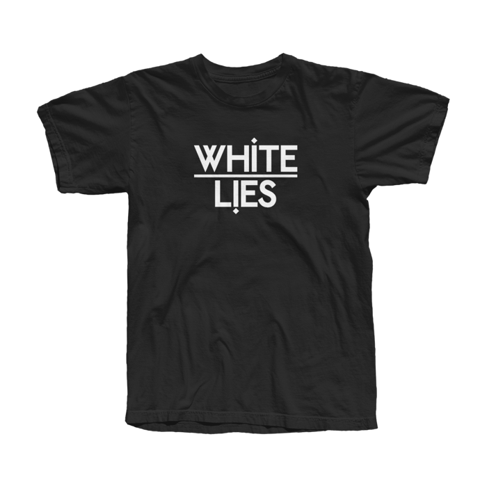 Men's Classic Logo T-shirt - Black - White Lies