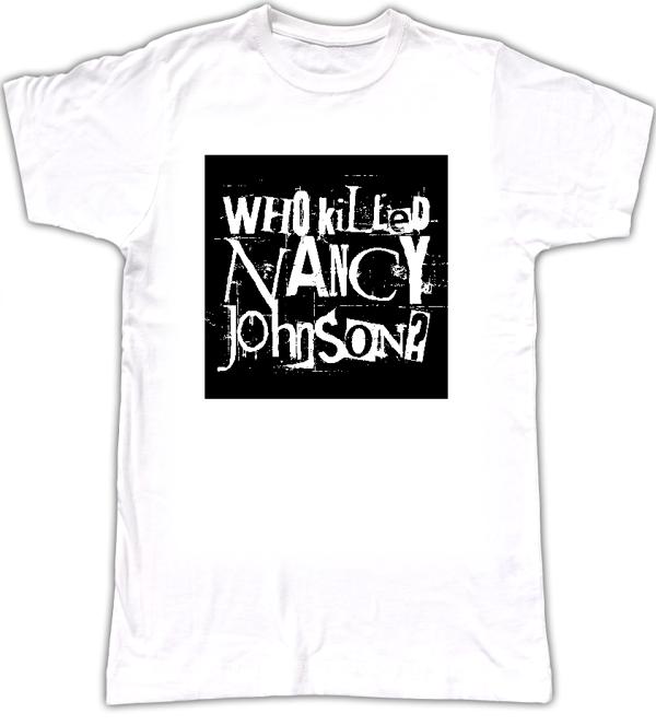 WKNJ? women's logo T-shirt style 2 - Who Killed Nancy Johnson?