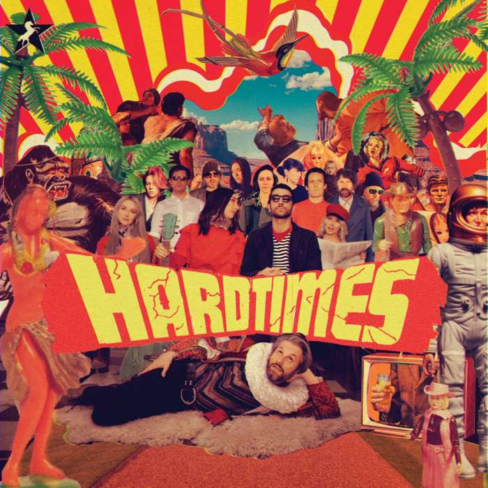 HARD TIMES (LP) - Whyte Horses