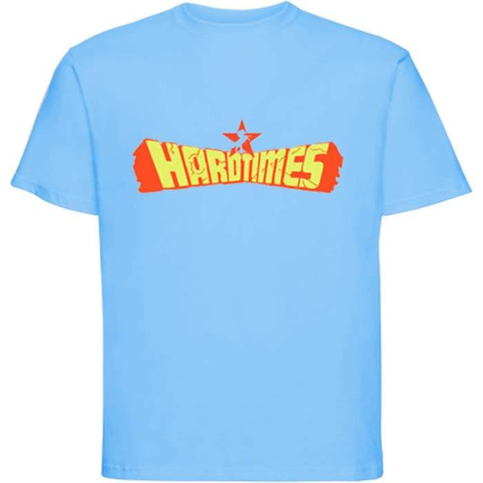 Whyte Horses - Hard Times - T-Shirt (Light Blue) - Whyte Horses