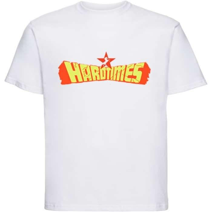 Whyte Horses - Hard Times - T-Shirt (White) - Whyte Horses