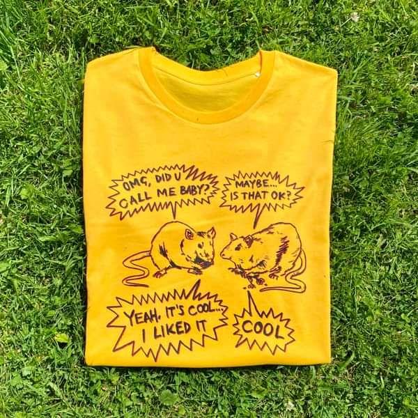 Be Around Me T-shirt (Yellow) - Will Joseph Cook
