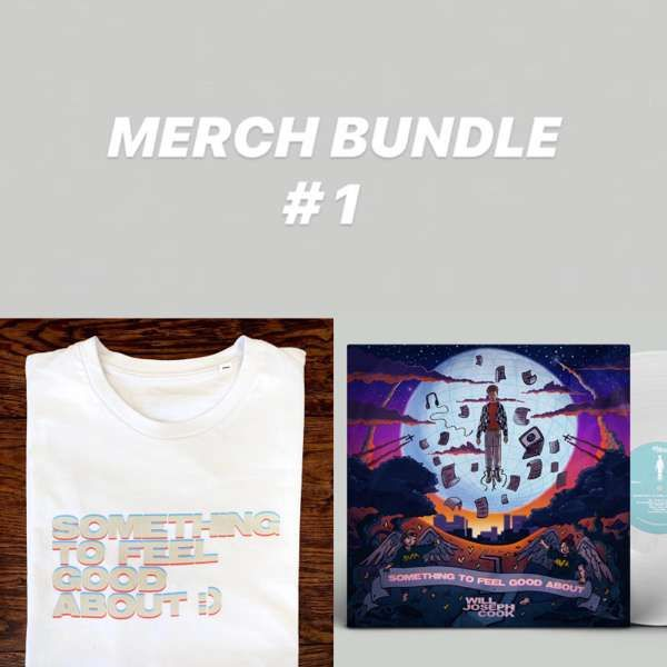 Bundle #1 (Signed LP + Tshirt) - Will Joseph Cook