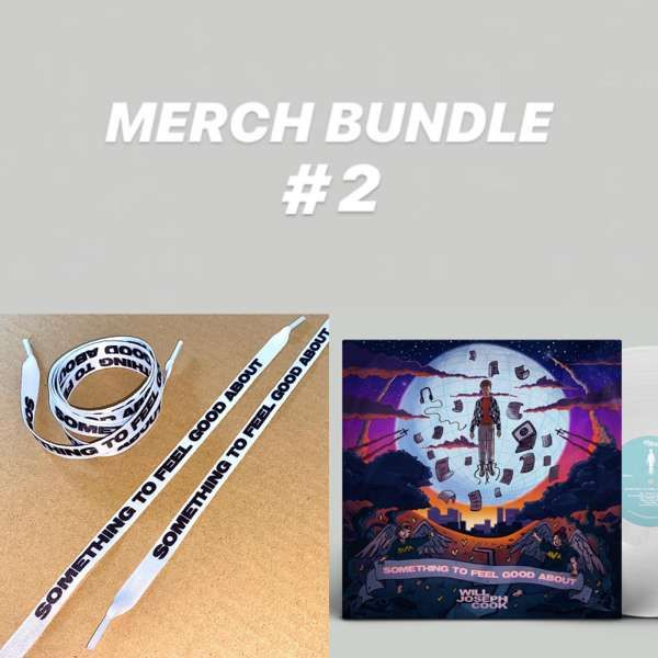 Bundle #2 (Signed LP + Shoelaces) - Will Joseph Cook