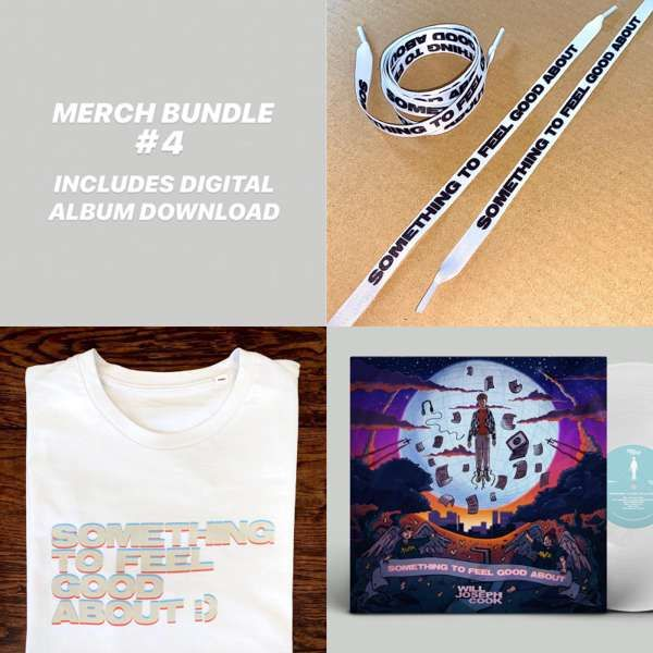 Bundle #4 (Signed LP + Tshirt + Shoelaces + Digital Album) - Will Joseph Cook