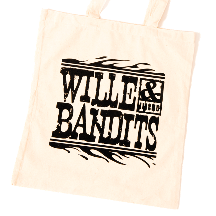 "Canvas ""Bag for Life"" - Wille and the Bandits"