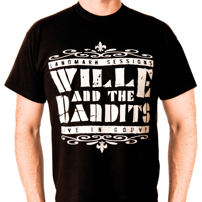 Live in Gouvy | T-shirt - Wille and the Bandits