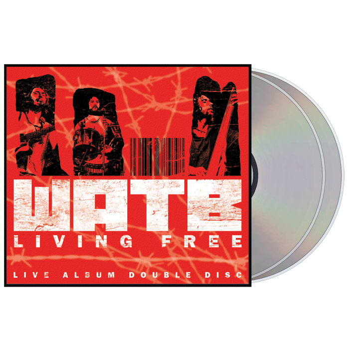 Living Free | Live Album | Double CD - Wille and the Bandits