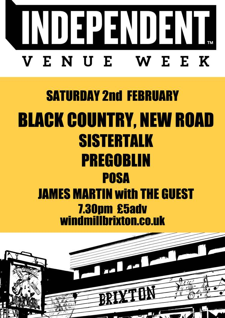 IVW19 Day 6: Black Country, New Road + Sistertalk +