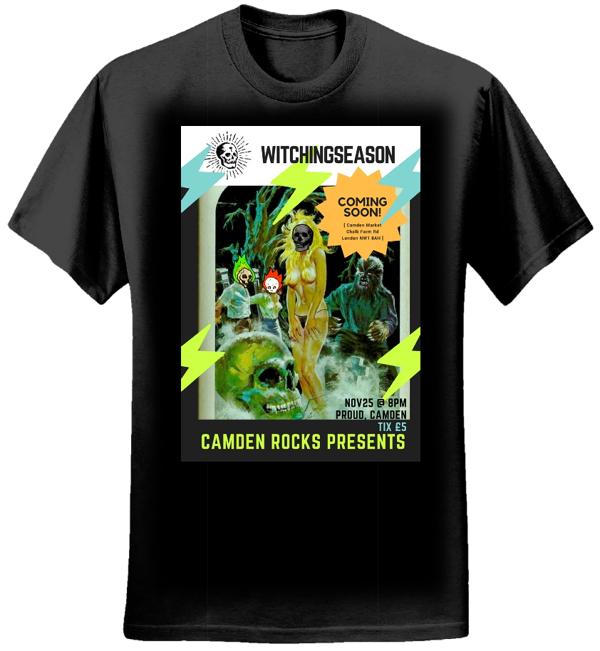 Proud Flyer Mens Black T-shirt - Witchingseason