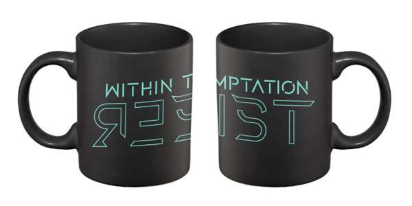 3D Resist – Matte Black Mug - Within Temptation