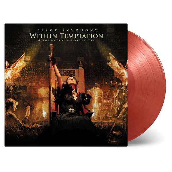 Black Symphony – LTD Edition Numbered Triple Gold/Red Marbled Vinyl - Within Temptation
