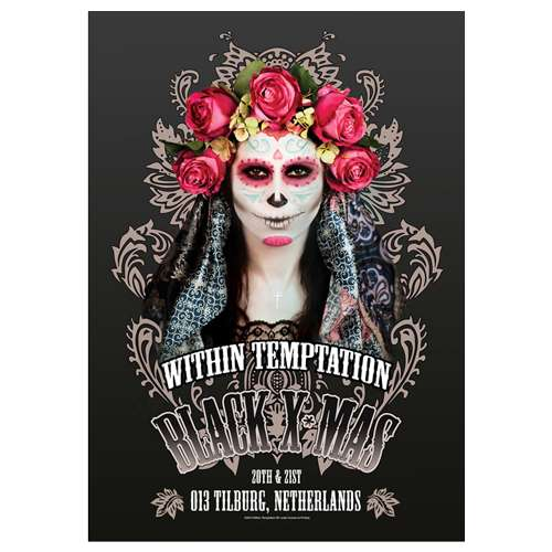 Black Xmas Event (A2 Poster) - Within Temptation