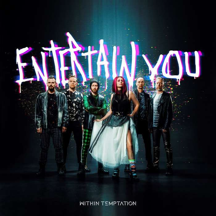 """Photo / Entertain You - 12"""" Double Sided Print - Within Temptation"""