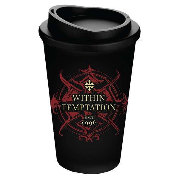 Red Logo – Thermal Coffee Tumbler - Within Temptation