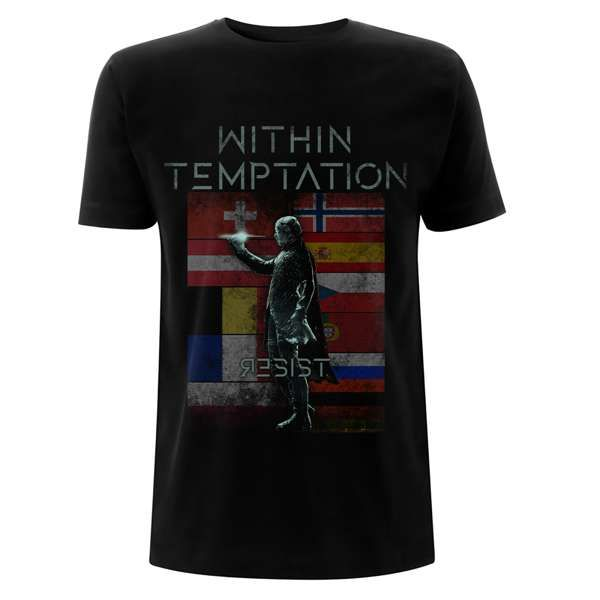 Resist Europe Flags – Tee - Within Temptation