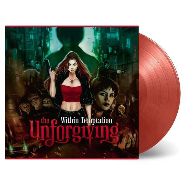 The Unforgiving – LTD Edition Gold & Red Swirled Double Vinyl - Within Temptation