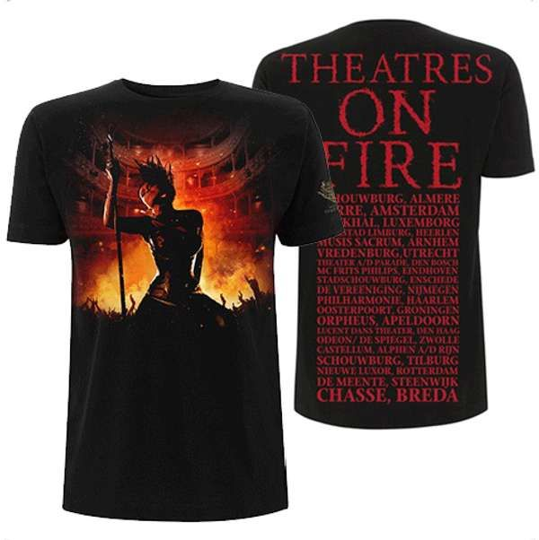 Theatres On Fire Tour T Shirt - Within Temptation