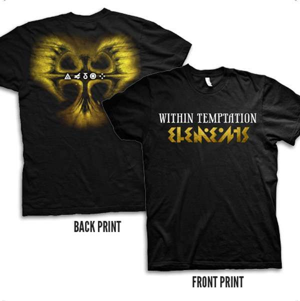 Yellow Phoenix Tee - Within Temptation