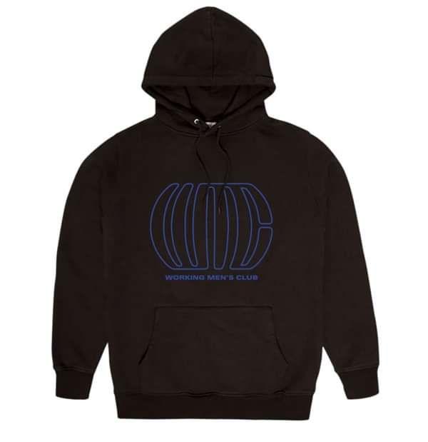 WMC - UV Glow Ink Hoodie - Working Men's Club