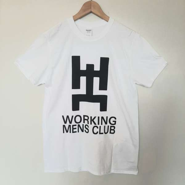 Working Men's Club White and Black Tee - Working Men's Club