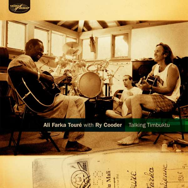 Ali Farka Touré with Ry Cooder - Talking Timbuktu (2xLP) - World Circuit Records