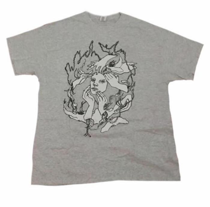 wych elm T-shirt in Grey - wych elm