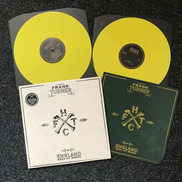 Frank Turner - England Keep My Bones - Tenth Anniversary Edition - Opaque Yellow - North American Edition - Xtra Mile Recordings