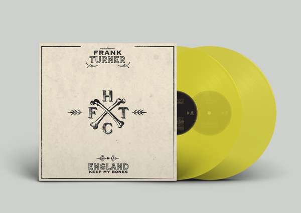Frank Turner - England Keep My Bones - Tenth Anniversary Edition - Transparent Yellow Exclusive - Xtra Mile Recordings