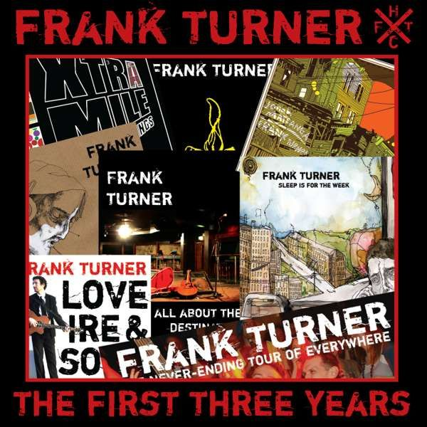 Frank Turner 'The First Three Years' CD - Xtra Mile Recordings